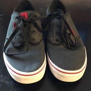 New Men's Vans Dark Gray Tennis Shoes 👟